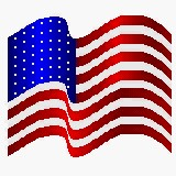 Picture of the flag of the United States of America